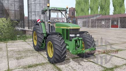 John Deere 7810 wide tyre for Farming Simulator 2017