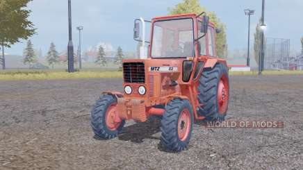 MTZ 82 Belarus Chervony for Farming Simulator 2013