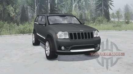 Jeep Grand Cherokee SRT8 (WK) 2008 for MudRunner