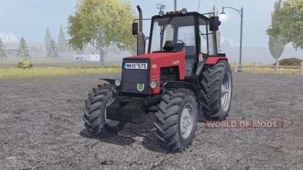 MTZ-1221 Belarus red for Farming Simulator 2013