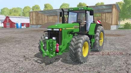 John Deere 8110 interactive control for Farming Simulator 2015