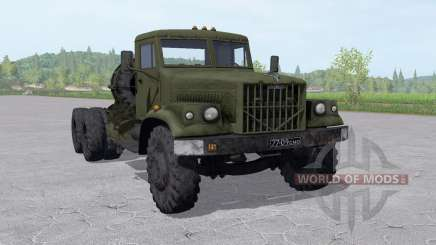KrAZ 258 6x4 for Farming Simulator 2017