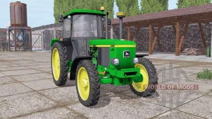 John Deere 3050 narrow wheels for Farming Simulator 2017