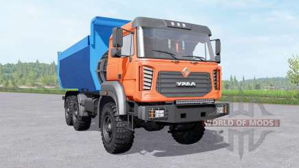 Ural 6370 truck for Farming Simulator 2017
