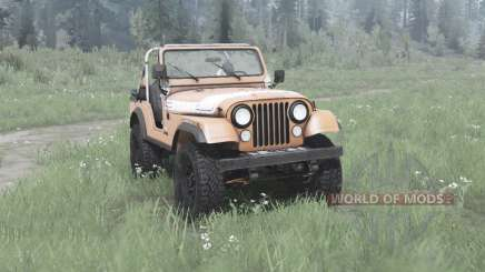 Jeep CJ-5 Renegade 1976 for MudRunner