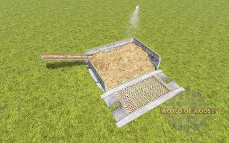 Manure storage v1.0.1 for Farming Simulator 2017
