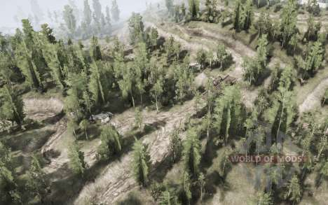 Deciduous forest for Spintires MudRunner