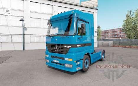 Mercedes-Benz Actros 1851 (MP1) v1.1 for Euro Truck Simulator 2