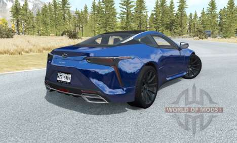 Lexus LC 500 for BeamNG Drive