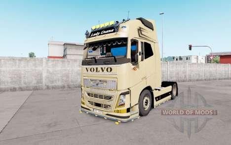 Volvo FH16 Globetrotter XL European Style v1.1 for Euro Truck Simulator 2