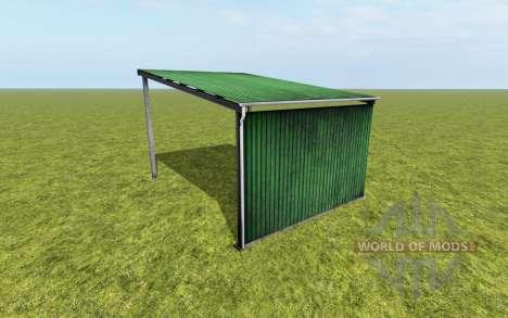 Metal canopy for Farming Simulator 2017
