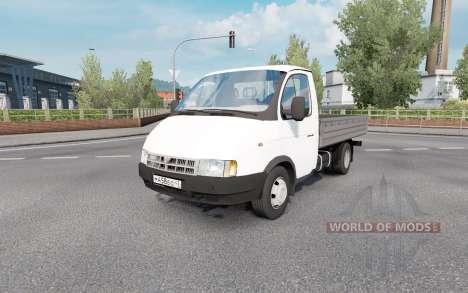 GAZ 3302 GAZelle 2002 for Euro Truck Simulator 2