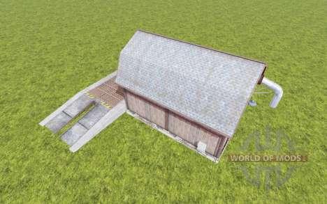 Grain Storage v1.1 for Farming Simulator 2017