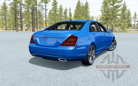 Mercedes-Benz S 600 for BeamNG Drive