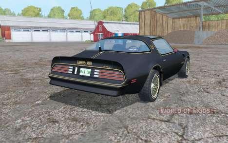 Pontiac Firebird for Farming Simulator 2015