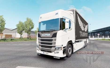 Scania S 730 Highline Tandem v1.1 for Euro Truck Simulator 2