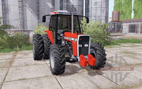 Massey Ferguson 297 Turbo dual rear for Farming Simulator 2017