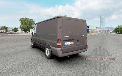 Ford Transit Van for Euro Truck Simulator 2