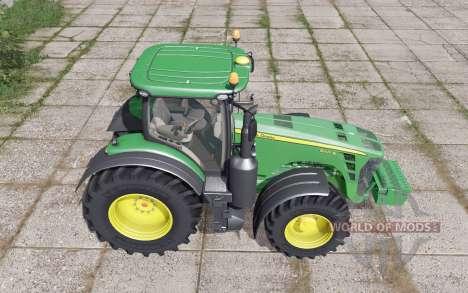 John Deere 8345R front weight for Farming Simulator 2017