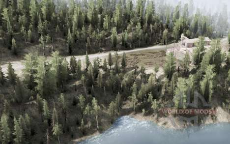 Kootenay Mountains for Spintires MudRunner