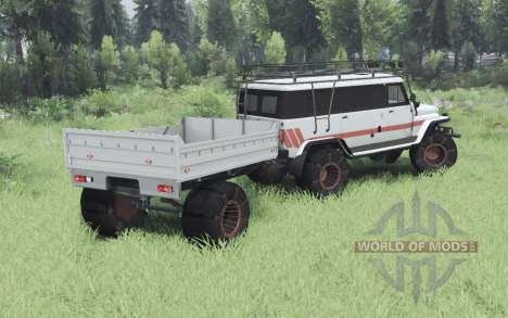 UAZ Bear for Spin Tires