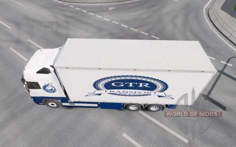 Volvo FH16 750 Globetrotter XL cab 2012 Tandem for Euro Truck Simulator 2
