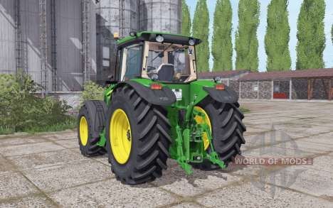 John Deere 7930 narrow twin wheels for Farming Simulator 2017