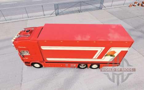 Scania R620 Fleurs for American Truck Simulator