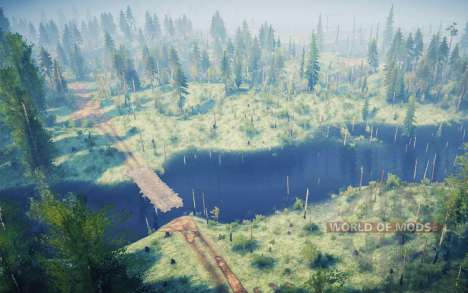Cornflower spill for Spintires MudRunner