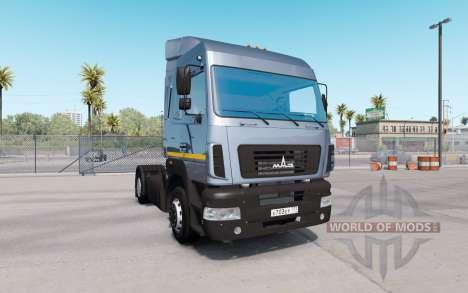 MAZ 5440Е9-520-031 for American Truck Simulator