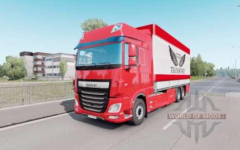 DAF XF Space Cab Tаndem for Euro Truck Simulator 2