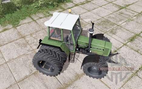 Fendt Favorit 612 LSA Turbomatik E dual rear for Farming Simulator 2017