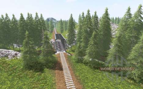 Forestry Land for Farming Simulator 2017