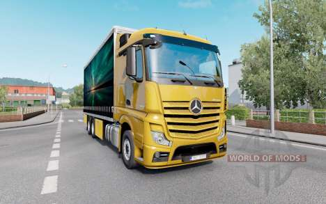 Mercedes-Benz Actros (MP4) Tandem for Euro Truck Simulator 2