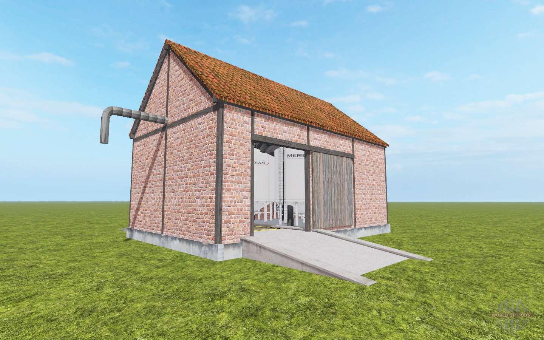Multi Storage Shed v1 3 for Farming Simulator 2017