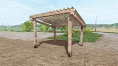 Small open cottage for Farming Simulator 2017