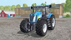 New Holland T8020 dual rear for Farming Simulator 2015