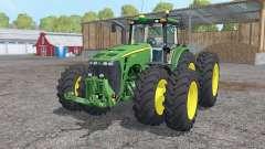 John Deere 8530 twin wheels for Farming Simulator 2015