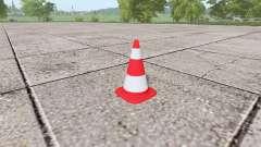 Traffic cone for Farming Simulator 2017