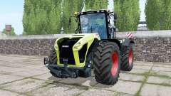 Claas Xerion 5000 Trac VC double wheels for Farming Simulator 2017
