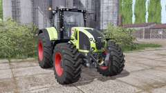 CLAAS Axion 940 interactive control for Farming Simulator 2017