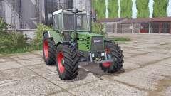 Fendt Favorit 611 LSA Turbomatic E dual rear for Farming Simulator 2017