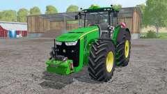 John Deere 8370R intеractive control for Farming Simulator 2015