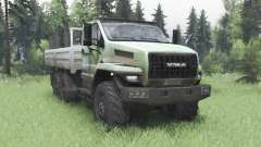 Ural 4320-6988-72Е5И06 Next double cabin for Spin Tires