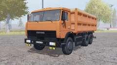 KamAZ 45143 with a trailer for Farming Simulator 2013
