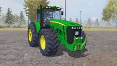 John Deere 8530 dark lime green for Farming Simulator 2013