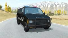 Gavril H-Series Belmont Police for BeamNG Drive