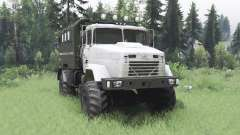 KrAZ 5131 4x4 for Spin Tires