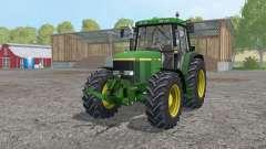 John Deere 6810 interactive control for Farming Simulator 2015