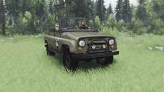 UAZ 469 S. T. A. L. K. E. R. for Spin Tires